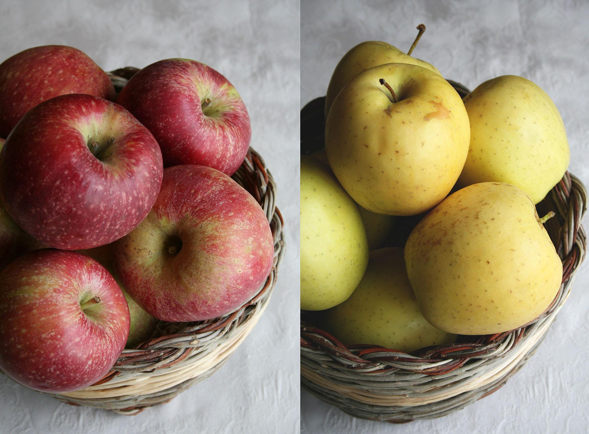 Azienda Agricola Collazzone - La Saporita a Paciano: mele Fuji e Golden